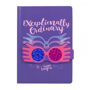 Harry Potter Notebook - Luna Lovegood