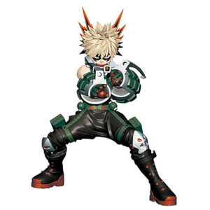 Banpresto My Hero Academia Enter The Hero Katsuki Bakugo Statue