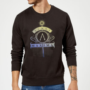 Harry Potter Lumos Maxima Sweatshirt - Black
