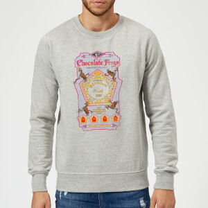 Harry Potter Chocolate Frog Sweatshirt - Grey