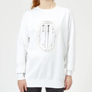 Harry Potter Wand Of Harry Potter Women's Sweatshirt - White