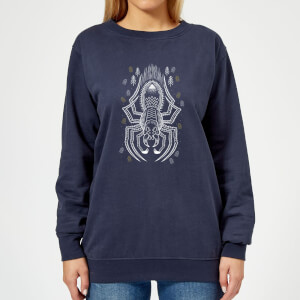 Harry Potter Aragog Women's Sweatshirt - Navy