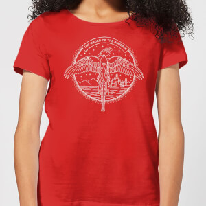 Harry Potter Order Of The Phoenix Women's T-Shirt - Red