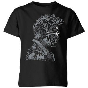 Harry Potter Harry Potter Head  Kids' T-Shirt - Black
