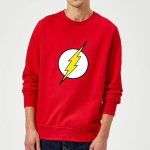 Justice League Flash Logo Sweatshirt - Red