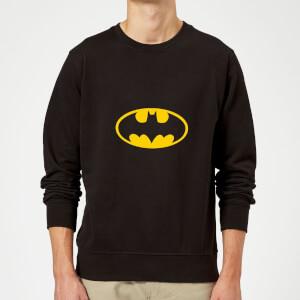 Justice League Batman Logo Sweatshirt - Black