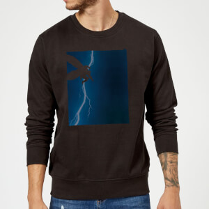 Batman The Dark Knight Returns Cover Sweatshirt - Black