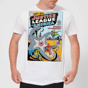 Justice League Starro The Conqueror Cover Men's T-Shirt - White
