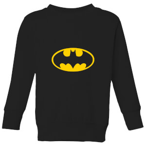 Justice League Batman Logo Kids' Sweatshirt - Black