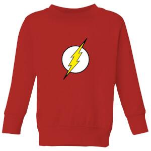 Justice League Flash Logo Kids' Sweatshirt - Red