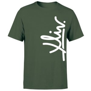 How Ridiculous XLIV Script Vertical Men's T-Shirt - Forest Green
