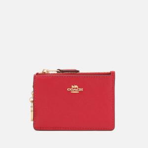 Coach Women's Mini Skinny ID Wallet - Bright Cherry