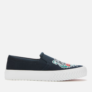 KENZO Men's K-Skate Tiger Head Slip-On Trainers - Navy Blue