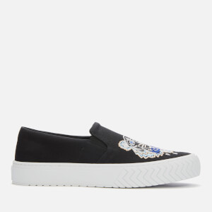 KENZO Men's K-Skate Tiger Head Slip-On Trainers - Black
