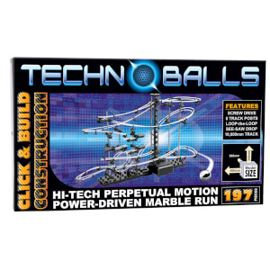 Techno Balls 197 Piece Marble Run
