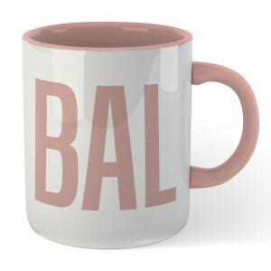 Bald Mug - White/Pink