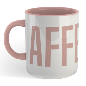 Caffeine Mug - White/Pink