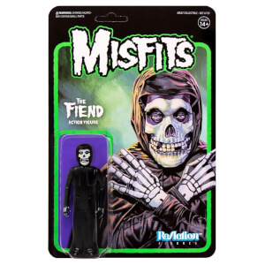 Super7 Misfits Wave 2 The Fiend Midnight Black ReAction Figure