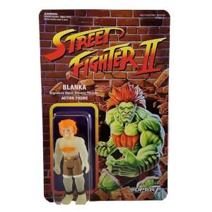 Super7 Street Fighter Blanka Glow ReAction Figure