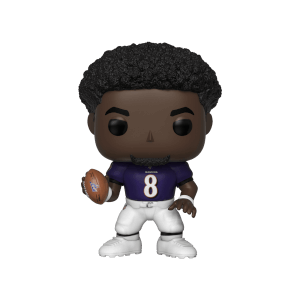 NFL Ravens Lamar Jackson Pop! Vinyl Figure