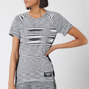 adidas X Missoni Women's City Runners Unite Short Sleeve T-Shirt - Black