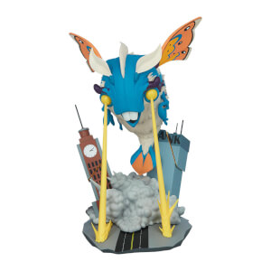 Sideshow Collectibles Unruly Kaiju Series - Designer PVC Statue Invasion of BeheMOTH! 20 cm