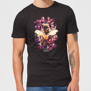 Avengers Endgame Splatter Men's T-Shirt - Black