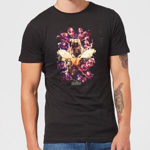 Camiseta Vengadores Endgame Splatter - Hombre - Negro