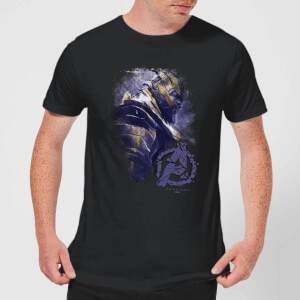 T-Shirt Avengers Endgame Thanos Brushed - Nero - Uomo