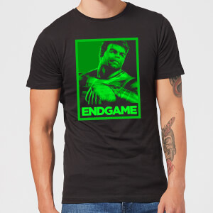 Avengers Endgame Hulk Poster Men's T-Shirt - Black