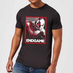Avengers Endgame Ant-Man Poster Men's T-Shirt - Black