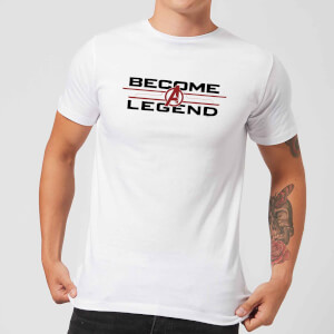 Avengers Endgame Become A Legend Men's T-Shirt - White
