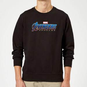 Sweat-shirt Avengers Endgame Logo Homme - Noir