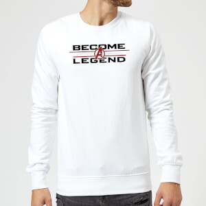 Sweat-shirt Avengers Endgame Become A Legend Homme - Blanc