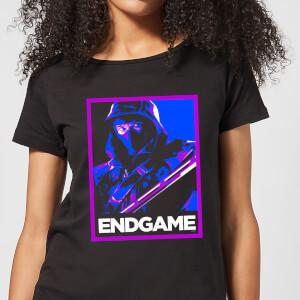 T-Shirt Avengers Endgame Ronin Poster  - Nero - Donna