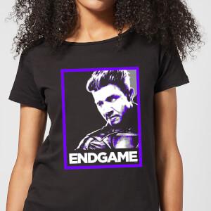 Avengers Endgame Hawkeye Poster Women's T-Shirt - Black