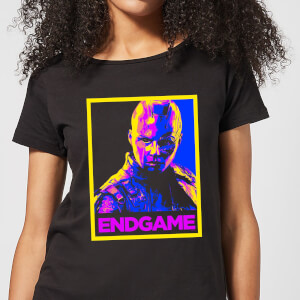 T-Shirt Avengers Endgame Nebula Poster - Nero - Donna