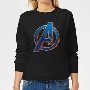 Avengers Endgame Heroic Logo Women's Sweatshirt - Black