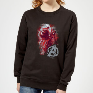 Sweat-shirt Avengers Endgame Rocket Brushed - Femme - Noir