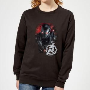 Sweat-shirt Avengers Endgame War Machine Brushed - Femme - Noir