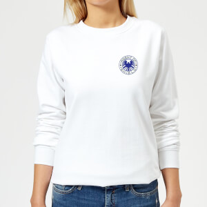 Marvel Avengers Agent Of Shield Women's Sweatshirt - White