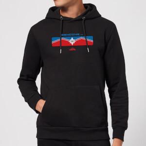 Captain Marvel Sending Hoodie - Black