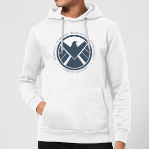 Marvel Avengers Agent Of SHIELD Logistics Division Hoodie - White
