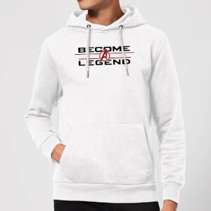 Avengers Endgame Become A Legend Hoodie - White