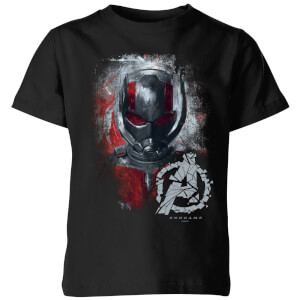Avengers Endgame Ant Man Brushed Kids' T-Shirt - Black