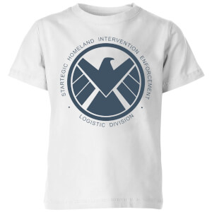 Marvel Avengers Agent Of SHIELD Logistics Division Kids' T-Shirt - White