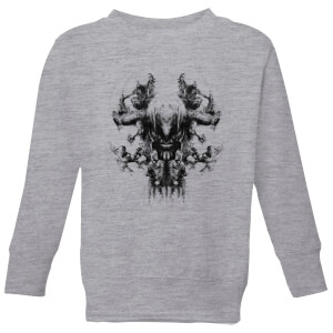 Avengers Endgame Thanos Rorschach Kids' Sweatshirt - Grey