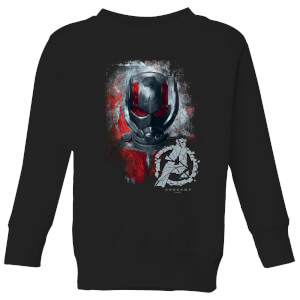 Avengers Endgame Ant Man Brushed Kids' Sweatshirt - Schwarz