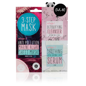 Oh K! 3-Step Anti-Pollution Marine Algae Sheet Mask 24ml