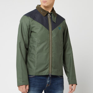 Barbour Men's Beacon Broad Wax Jacket - Light Moss